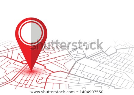 An infographics showing a map Stock photo © bluering