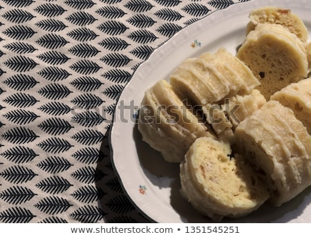Czech bread dumplings Stock photo © Digifoodstock