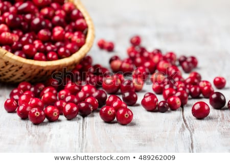 Fresh cranberries. Stock photo © lidante
