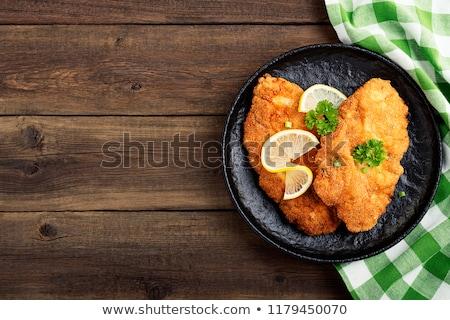 Schnitzel Stock photo © Peteer