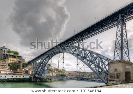 Dom Luis Iron Bridge In Porto Foto stock © homydesign