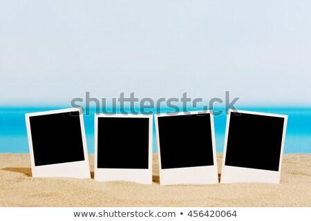 Sable photos coloré relevant vers le bas eau Photo stock © FOTOYOU