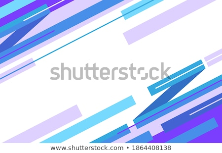 Flat colorful seamless pattern with skewed rectangles Stock photo © SwillSkill