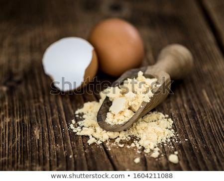 Farina fresche uovo torta cottura strumento Foto d'archivio © M-studio