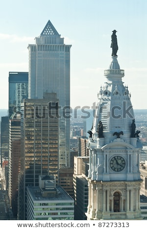 William Penn Statue City Hall Philadelphia PA Stock photo © Qingwa