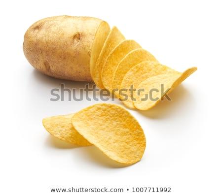 raw chipped potatoes Stock photo © Digifoodstock