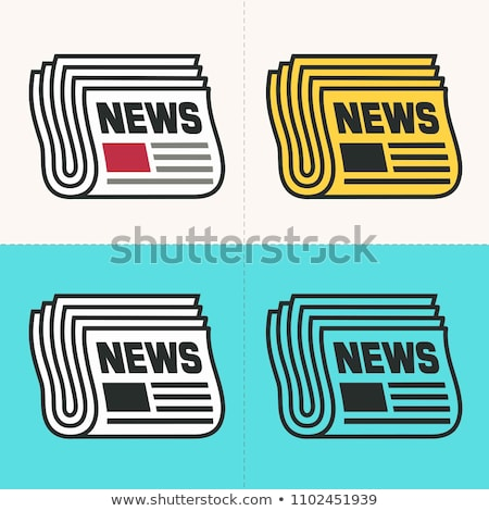 Digital News - Cartoon Yellow Text. Business Concept. Stock photo © tashatuvango