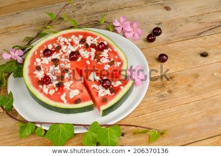étel szokatlan pizza paradicsom bors friss Stock fotó © IS2
