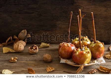 Food - toffee apples Stock photo © IS2