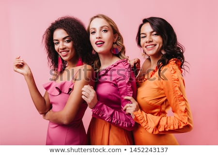 pared · mujer · mano · moda - foto stock © mtoome