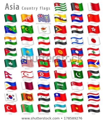 Brunei · bayrak · vektör · görüntü · iş - stok fotoğraf © Amplion
