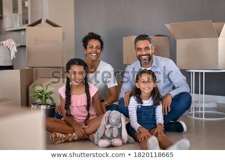 肖像 2 中東 子供 ホーム 家族 ストックフォト © monkey_business
