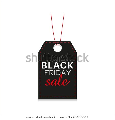 illustration of discount tags on white background stock photo © get4net