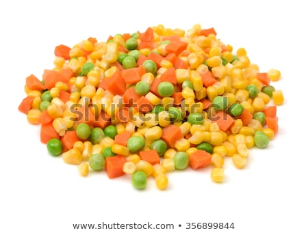 fried corn with carrot stock photo © tycoon