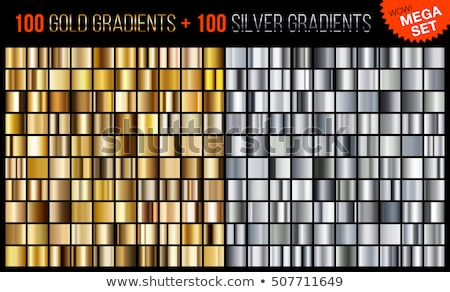 Gold and Glass Awards Set Vector Illustration Stock photo © robuart