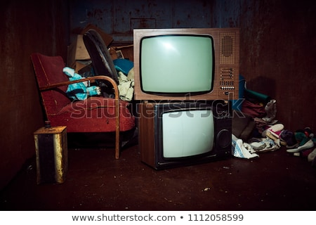 Discarded television Stock photo © luissantos84