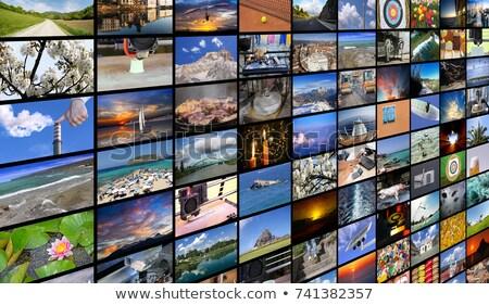 multi media display stock photo © danielgilbey