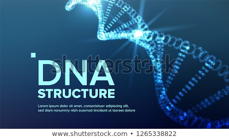 ADN structure vecteur évolution symbole chimie Photo stock © pikepicture