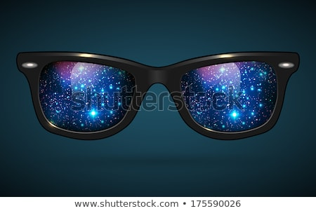 Sunglasses Outer Space Illustration Stock photo © lenm