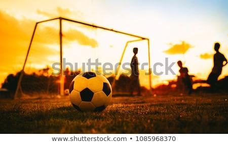 Chłopców piłka nożna sportowe dziedzinie młodzieży Zdjęcia stock © matimix