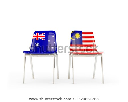 Australien · 3D · Gliederung · Flagge · Design · Welt - stock foto © mikhailmishchenko