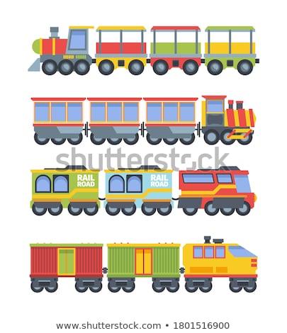 セット ワゴン おもちゃ 実例 車 背景 ストックフォト © bluering