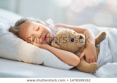 Girl napping Stock photo © pressmaster