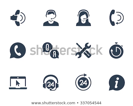 Technical Support People Answering Questions Help Stock photo © robuart