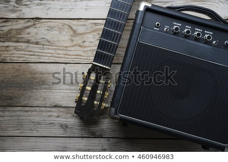 Basse guitare instrument de musique stade guitariste Rock Photo stock © LoopAll