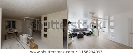 An Empty Kitchen Apartment Room After Renovation Stock photo © AndreyPopov