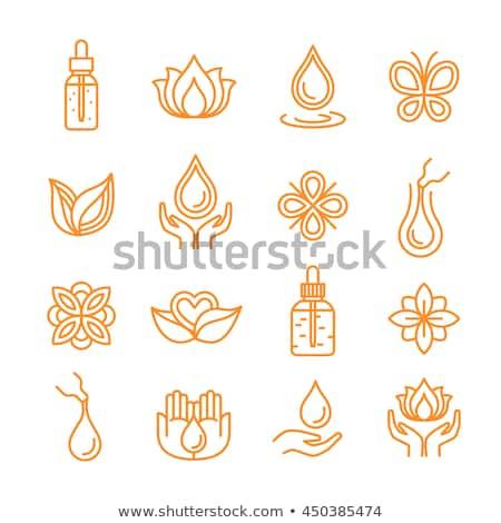 Stock photo: Essential Oil Icon