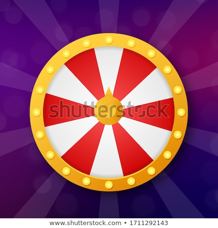 Lucky Person Gambling, Fortune Wheel Circle Game Stock photo © robuart