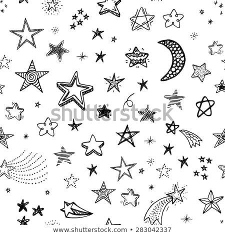 cartoon cute doodles hand drawn holidays seamless pattern stock photo © balabolka