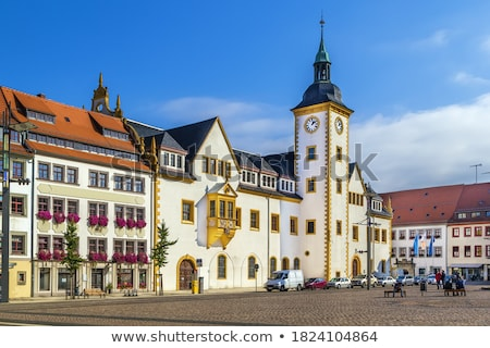 Stock photo: Main square in Freiberg, Germany