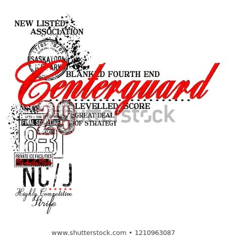 Illustratie poster werkruimte creatieve complex Stockfoto © ConceptCafe
