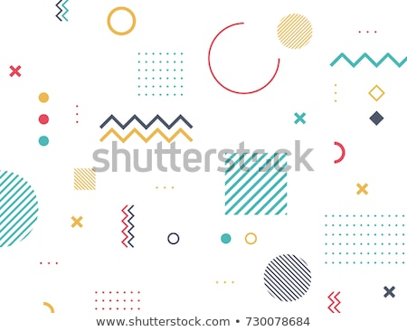 background with abstract figures white Stock photo © Olena
