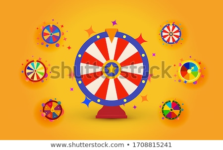 Gamer and Fortune, Roulette Sign, Casino Vector Stock photo © robuart