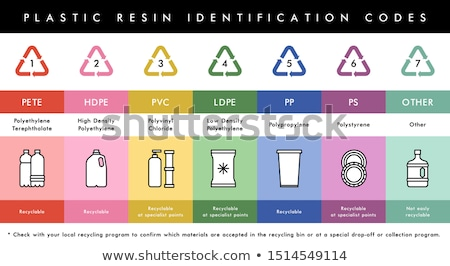 Eco recycleren materiaal container verpakking vector Stockfoto © pikepicture