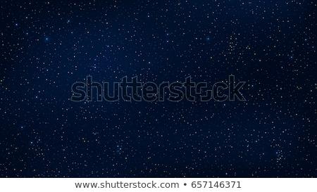 Blauwe hemel sterren vector astronomie illustratie Stockfoto © Andrei_