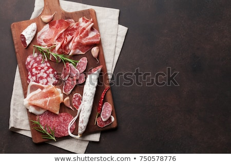 Cold meat on cutting board  Stock photo © grafvision