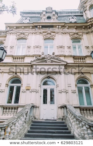 Classic European architecture and historical buildings on the city center streets of Milan in Lombar Stock photo © Anneleven