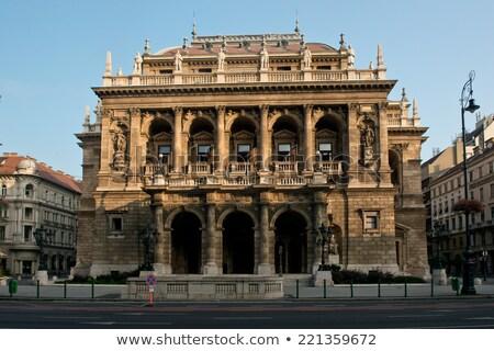 Budapest, Opera House Stock photo © fazon1