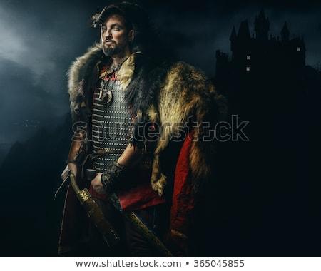 Warrior ready for war. Stock photo © Reaktori