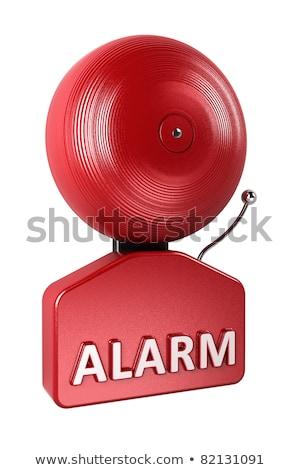 Alarm Bell over white Stock photo © creisinger