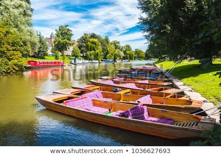 Cambridge grupo juntos rio Foto stock © jeayesy
