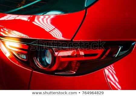Red sport car. Close up. Stock photo © Paha_L