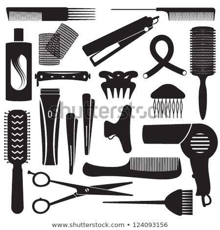 Hair curlers #3 | Isolated Stock photo © zakaz