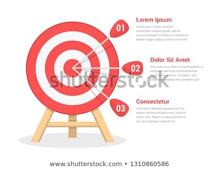 kleurrijk · darts · leven · oog · oranje · groene - stockfoto © latent