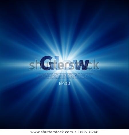 Sunny solar radiating background Stock photo © fenton