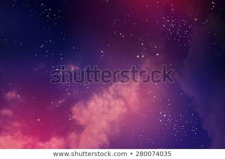Starry Night Abstract Background Stock Photo © Marimorena